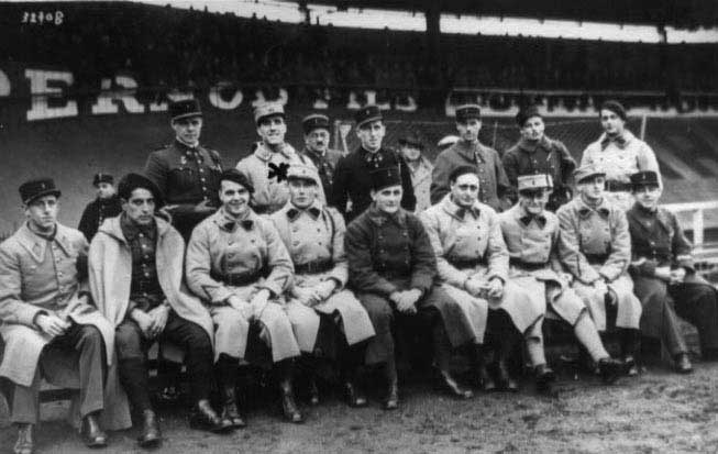 National military team – Herrera is the second from the left in the back row