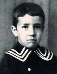 Photo of Helenio Herrera as a child